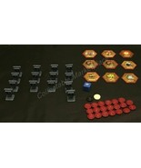 Heroscape : Replacement Die, Markers, Glyphs Parts Pieces Lot  - $11.53