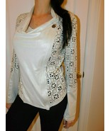 CASTING Women's  Suede Jacket / Top Size  2 / Medium  NWT - $79.19