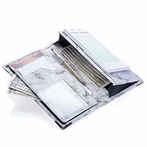 Sonic Server 5x9 11-Pocket Server Book Organizer with Double Magnetic Po... - $27.54 CAD