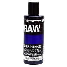 Deep Purple Hair Color, Demi-Permanent 4 oz by RAW.  Temporary Hair Die (2-Pack) - $11.08