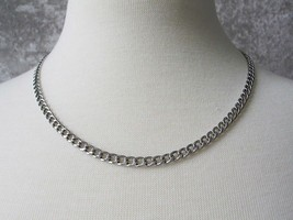 Never Fades Stainless Steel 4mm 20 inch Curb Chain for Men or Women image 1