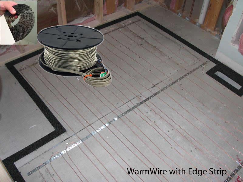 SunTouch Radiant Floor Heating WarmWire Kits 190 sq 240 Volt