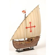 Model Kit Ship 1/100 Christopher Columbus Expedition Ship Niña (9005) Z... - $38.00