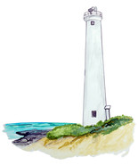 Barbers Pointe Hawaii Lighthouse High Quality Art Sticker SUV Auto Truck... - $5.99+