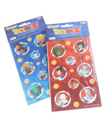 Dragon Ball Z Sandylion Stickers Anime Goku 100 Percent Authentic Blue Red - $9.95