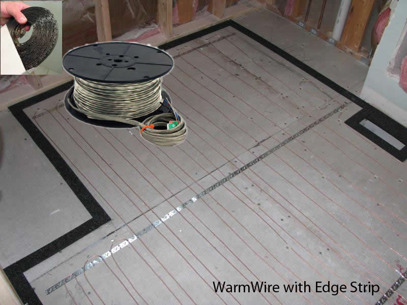SunTouch Radiant Floor Heating WarmWire Kits 20 sq 240 Volt