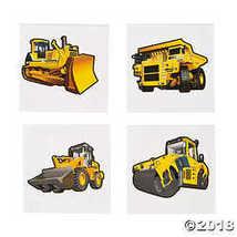 Fun Express Construction Zone Tattoos (72 Pack) Temporary Tattoo  - $6.36
