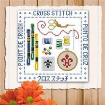 Cross Stitch Mini Sampler cross stitch chart Pinoy Stitch - $5.00