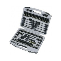 Tools Socket Set Auto Boat Truck Stanley Black Chrome Laser Etched 99 Pi... - $102.84