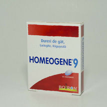 BOIRON, Homeogen 9 / Homeozhen 9 - in sore throat and laryngitis, 200mg.... - $20.00