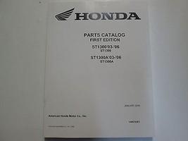 2003 2004 2005 2006 HONDA ST1300/A ST1300 A Parts Catalog Manual NEW Book  - $104.48