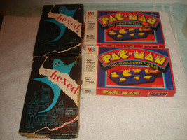 Vintage It's Hexed ghost pac-man jigsaw challenging brain teasers puzzles  - $24.74