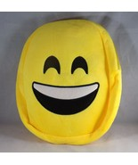 Children's Soft Plush Emoji Expression Backpack - New - Smile - $9.49