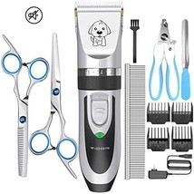 YIDON Dog Clippers Low Noise Pet Hair Clippers Cordless Rechargeable Professiona