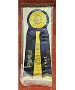 Vintage CHICAGO Kennel Club Award Ribbon 1963 AKC BEST OF BREED - $11.92