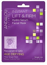 Andalou Naturals Instant Lift & Firm Hydro Serum Facial Mask, 0.6 Fluid ... - $7.94