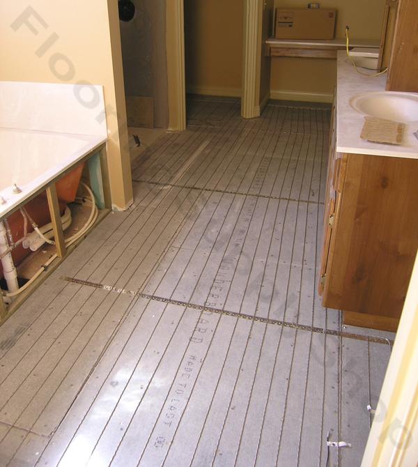SunTouch Radiant Floor Heating WarmWire Kits 360 sq 240 volt