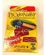 Pair of Card Games WHAC-A-MOLE & PICTIONARY New Sealed Package Ages 5+ & 8+ - $10.49