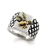Two Tone United States Eagle Men's Ring - SIZE 13 (LAST ONE) - $16.64