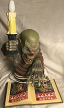 Vintage 1996 Tales From The Crypt Crypt Keeper Candelabra Complete With ... - $30.84