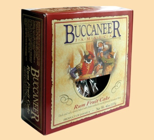 Buccaneer Rum Fruit Cake