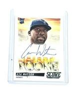 2014 Panini Hot Rookie Score NFL Football Autographed Card Asa Watson Pa... - $6.60