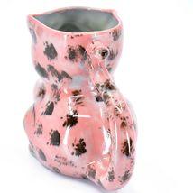 Ceramic Hand Painted Kitten Cat Figure Coffee Cup Mug Handmade Guatemala image 3