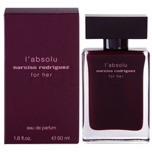 Narciso Rodriguez L'absolu For Her 1.6 1.7 oz 50 ml Women Perfume Edp Spray NIB - $57.25