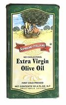Supremo Italiano Extra Virgin Olive Oil 3L Packed in Italy - $43.55