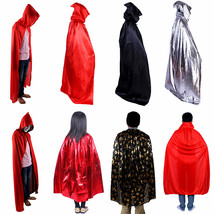 Costume Cloak Cape Coat Halloween Carnival Cult Hood Robe Mantle Cosplay - $9.60