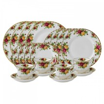 Royal Albert OLD COUNTRY ROSES 20-PIECE DINNERWARE SET New In Box - $424.71