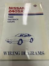 1989 Nissan 240SX Electrical Wiring Diagram  Diagrams Manual Book OEM Fa... - $138.55