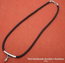 Thai Hand Made/Thai Amulet Black Handmade Amulet's Necklace Code# 005 - $7.00
