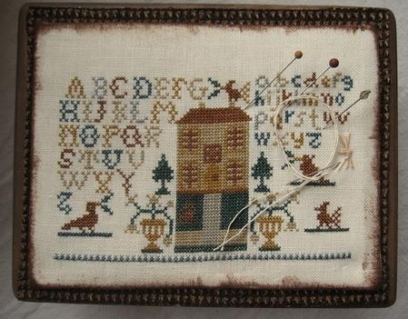 Primary image for Alphabet House cross stitch chart Niky's Creations