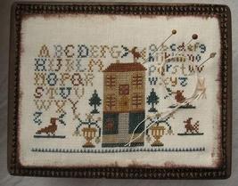 Alphabet House cross stitch chart Niky's Creations - $11.70