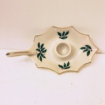 Lenox Porcelain Holiday Collection Candle Holder Christmas Decoration US... - $12.77