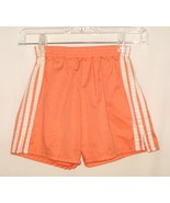 TRAX orange w/white side stripes, elastic waist, girls casual shorts Wai... - $2.96