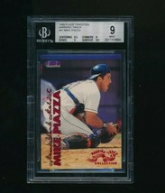 1999 Fleer Tradition Warning Track #41 Mike Piazza BGS 9 - $80.00