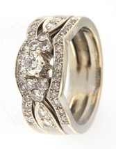 Women's 14kt White Gold Wedding set - $1,199.00