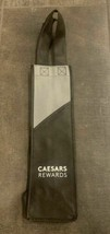 Caesars Palace Las Vegas Hotel & Casino Black Grey Caesars Rewards Wine Bag - $8.75