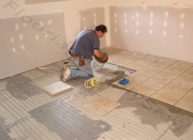 SunTouch Radiant Floor Heating WarmWire Kits 260 sq 240 Volt