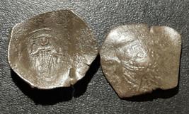 1204-1261 Latin Empire of Constantinople Byzantine Cup Coin Billon Aspro... - $14.85