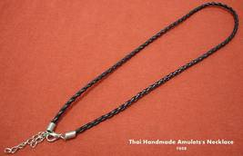 Thai Hand Made/Thai Amulet Black Handmade Amulet's Necklace Code# 008 - $7.00