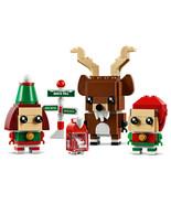 LEGO Brickheadz: Reindeer, Elf and Elfie Holiday Set (40353) NIB/Sealed - $27.99