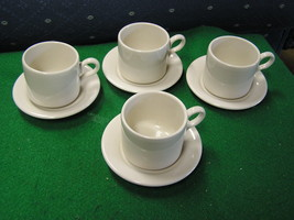 Great Set of 4 HOMER LAUGHLIN DEMITASSE Cups and Saucers..............SALE - $8.32