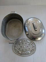 Vintage GHC Magnalite 8 Quart Covered Roaster/Dutch Oven USA Made w/Trivet - $98.00