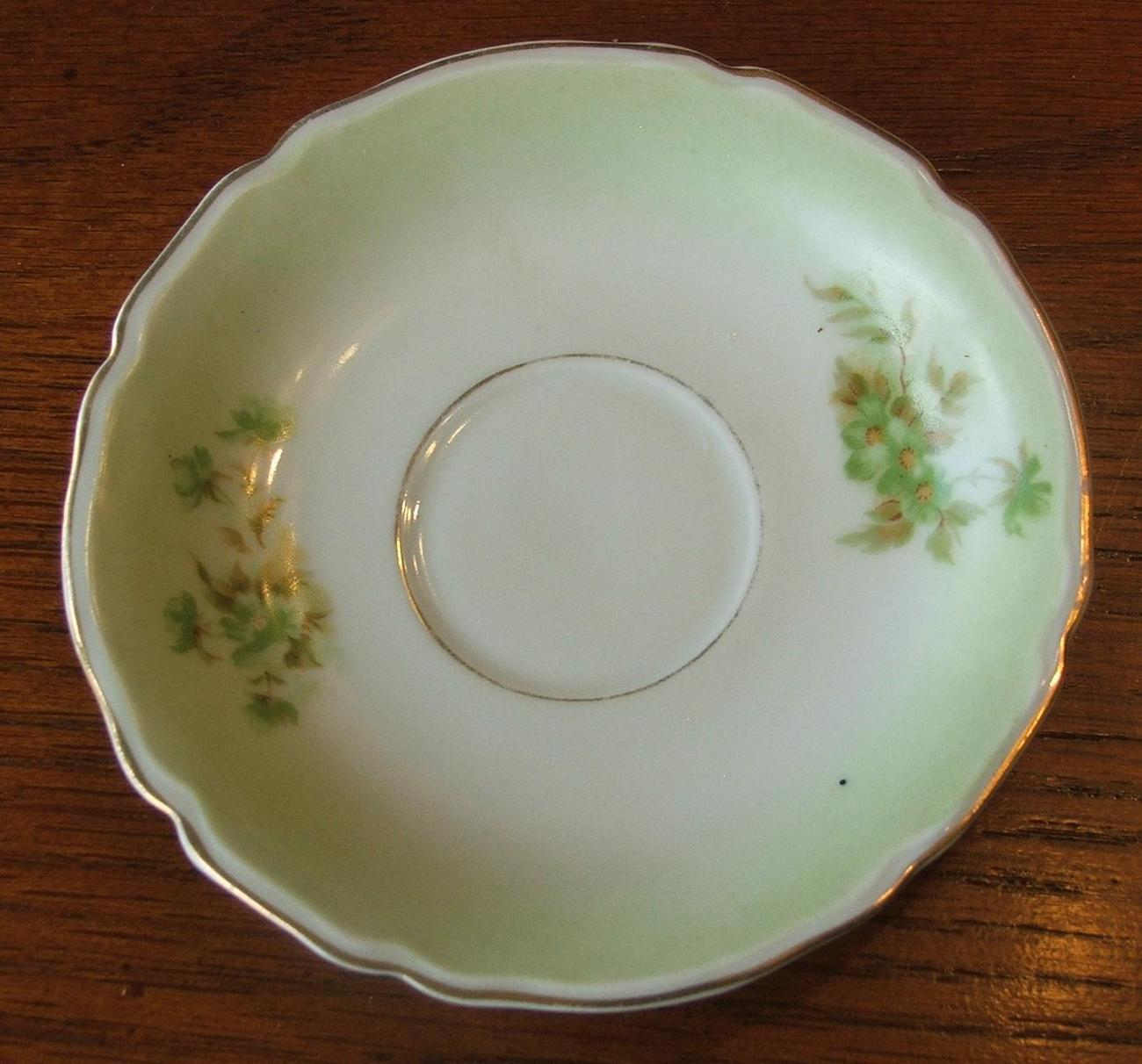 Greenfloral plate