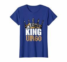 Funny Happy birthday T-Shirt - Virgo Birthday Gifts - King Virgo Zodiac T-Shirt  image 3