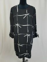 CeCe by Cynthia Steffe women 14 Lattice ribbons tie sleeve dress - $54.28