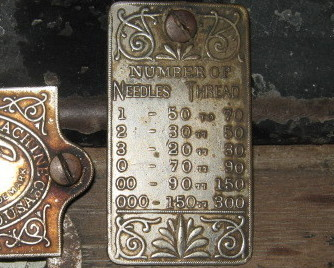White c1880 VS Inspection Plates with Screws